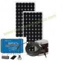 KIT DE AMPLIACION ENERGIA SOLAR FOTOVOLTAICA AUTOINSTALABLE 2 PANELES 190W