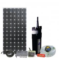 Kit Bomba Solar Shurflo 70m/2500m3.