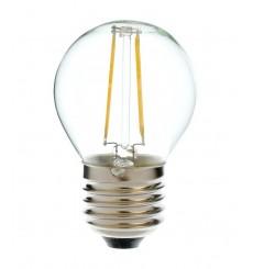 Bombilla filamento globo 4W E14 O E27