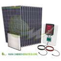 KIT SOLAR AUTOCONSUMO MONOFÁSICO 3200 Wp CON BATERIA DE LITIO 6.5 Kwh