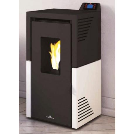 Se puede poner una estufa de pellets en un piso estufa de for Se puede poner una chimenea en un piso