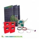 KIT SOLAR VICTRON 4800/2400 W/DIA ROLLS CONSUMOS BASICOS, BOMBA DE AGUA 1CV