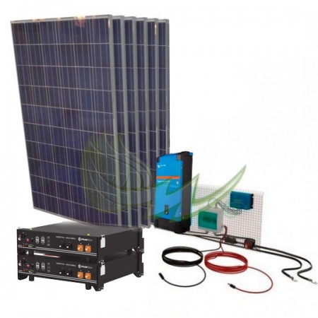 KIT SOLAR AISLADA LITIO 2kW VICTRON