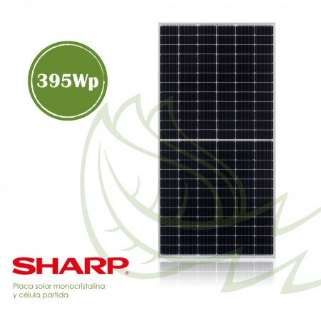 PLACA SOLAR MONOCRISTALINA SHARP 395 WP