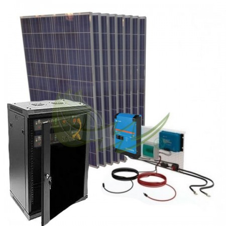 KIT SOLAR LITIO AISLADA 13600/6800 W/DIA