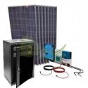 KIT SOLAR LITIO AISLADA 13600/6800 W/DIA