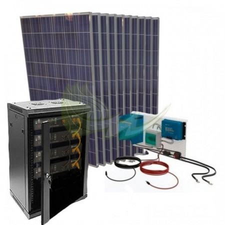 KIT SOLAR LITIO AISLADA 17000/8500 W/DIA