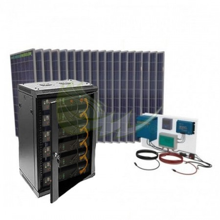 KIT SOLAR LITIO AISLADA 34000/17000 W/DIA