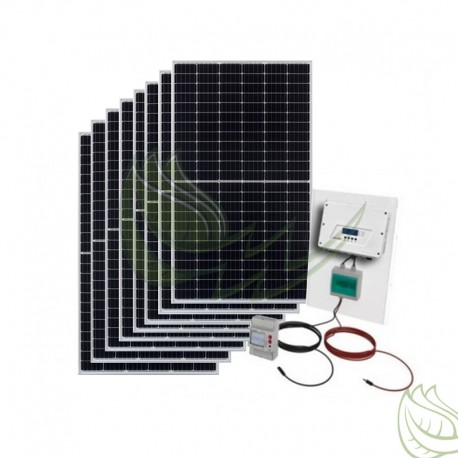 KIT AUTOCONSUMO SOLAR 3600 WP SOLAREDGE