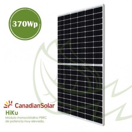 PLACA SOLAR MONOCRISTALINA CANADIAN 370 Wp
