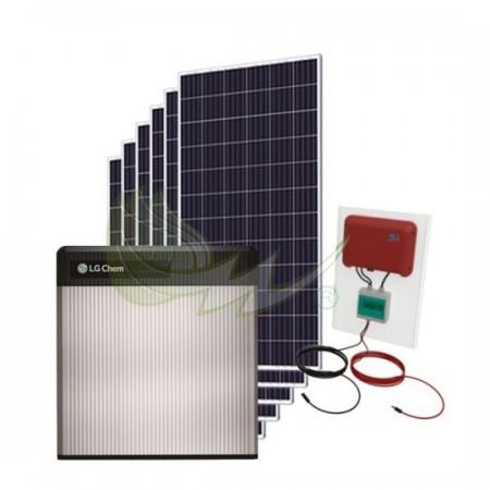 KIT SOLAR AUTOCONSUMO FOTOVOLTAICO SMA 2,3 kW CON BATERÍA LG LITIO