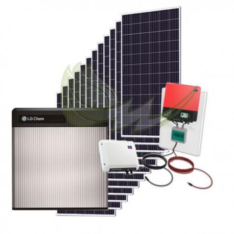 KIT AUTOCONSUMO SOLAR 5,4 kWp SMA SUNNY BOY 4000TL CON BATERÍA DE LITIO