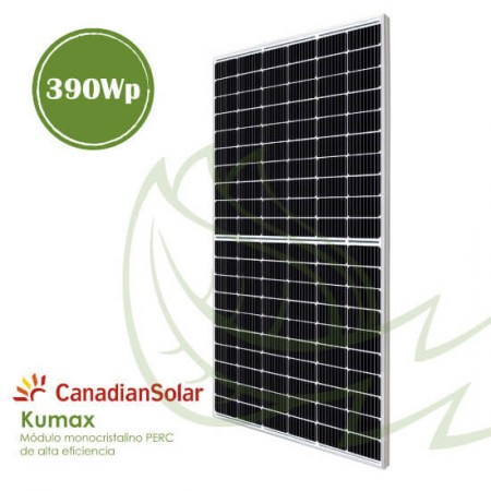 PLACA SOLAR MONOCRISTALINA CANADIAN 390 Wp