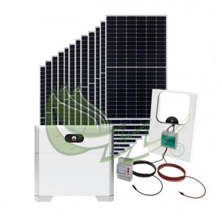 KIT SOLAR AUTOCONSUMO FOTOVOLTAICO 5,4 kW HUAWEI CON BATERÍA LUNA