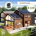 KIT SOLAR AUTOCONSUMO CON MICROINVERSORES 4 kW ENPHASE