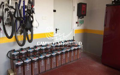 Baterías solares Opzs