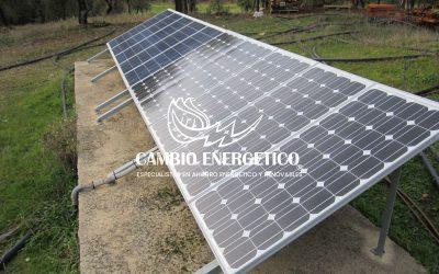Placa solar Cáceres