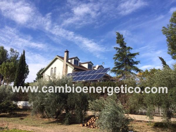 Autoconsumo residencial con kit solar de vertido cero