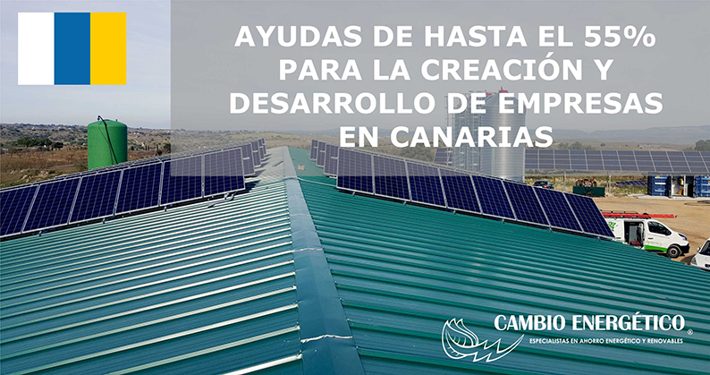 ayudas para energías renovables en Canarias 2019