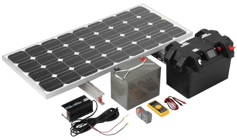 componentes generador solar