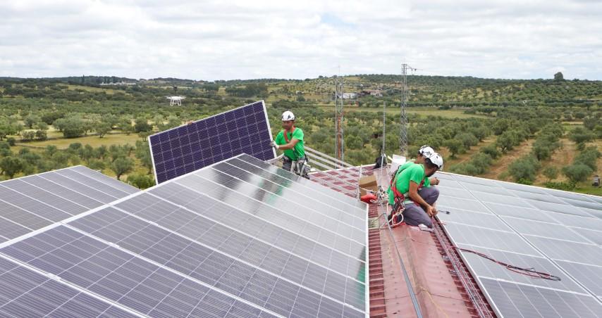 instalación solar a coste cero