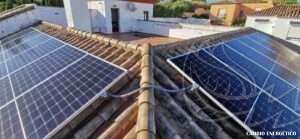 Instalación fotovoltaica en San Luis de Sabanillas
