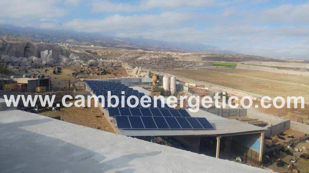 Instalación solar Tenerife