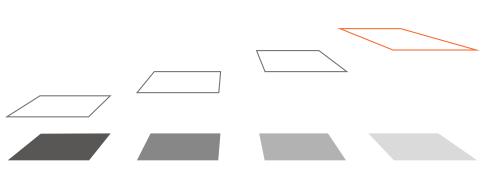 altura placas solares