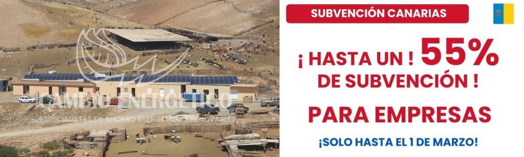 Subvención en Canarias