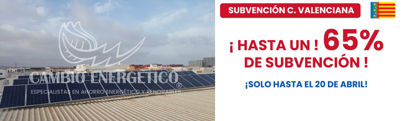 subvención comunidad valenciana