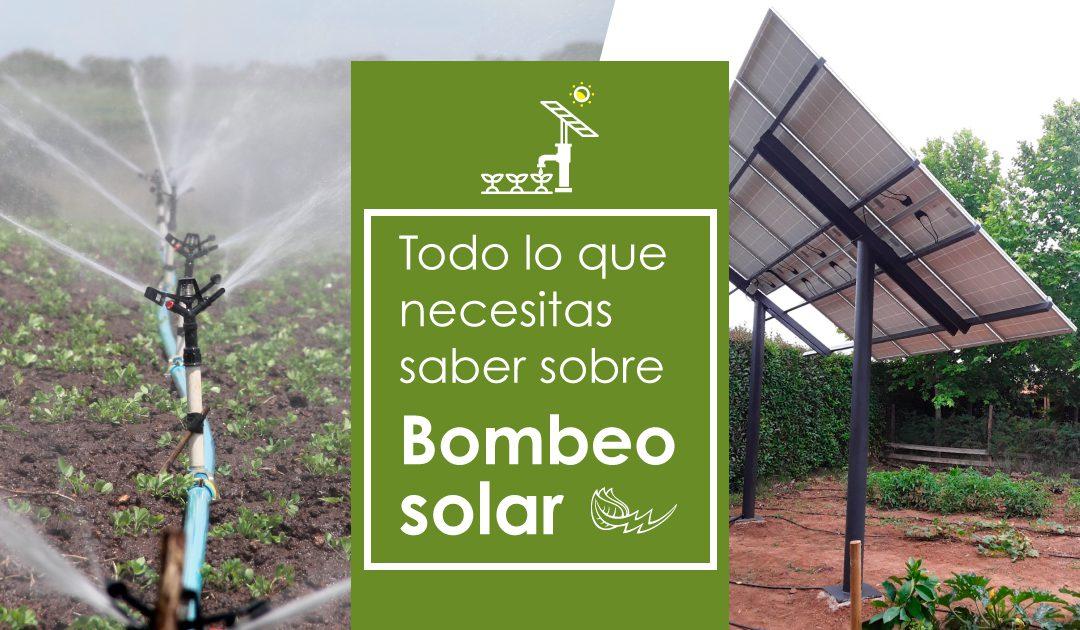 BOMBEO SOLAR: TODO LO QUE NECESITAS SABER EN 5 PREGUNTAS