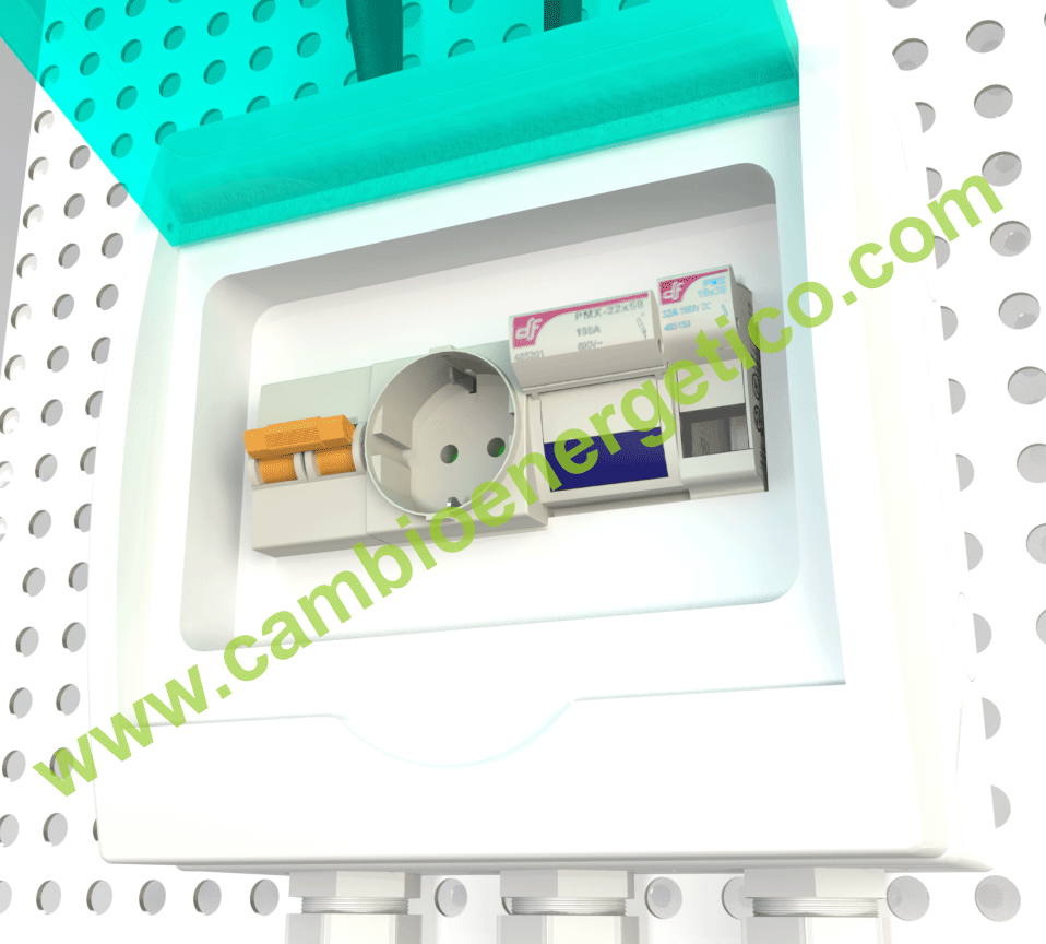 Protecciones kit bombeo solar