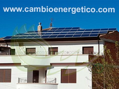 Autoconsumo fotovoltaico para un autoconsumo en huesa.