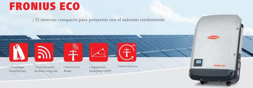 Banner Fronius Eco