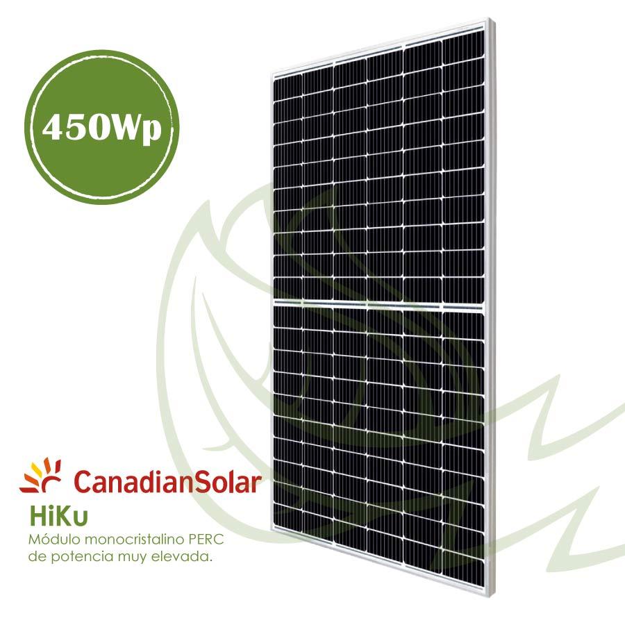 Placa solar Canadian 450 Wp