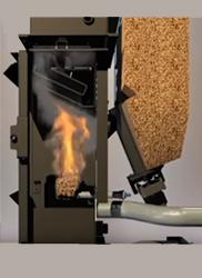 Encendido termoestufa de pellet
