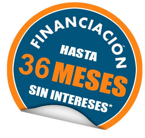 financiacion 36  meses sin intereses