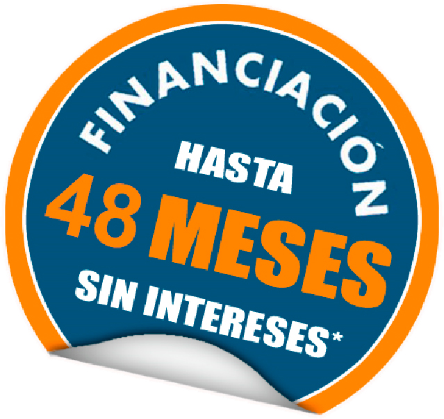 financiacion 48  meses sin intereses
