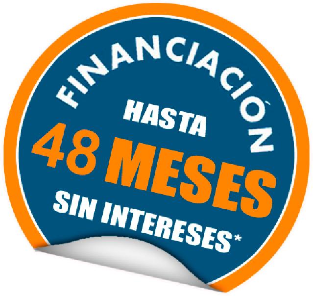 financiacion 48  meses sin intereses