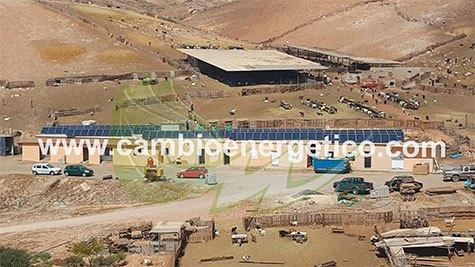 Cambio Energético ha diseñado e instalado la mayor planta solar para autoabastecimiento de energía en las islas Canarias, concretamente en una granja caprina fabricante de los quesos.