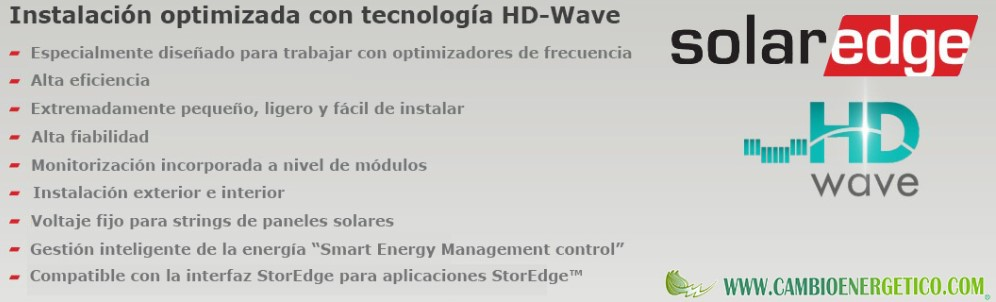 Información SolarEdge