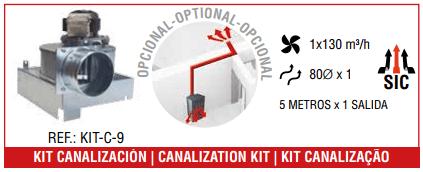 Kit de canalización Bronpi