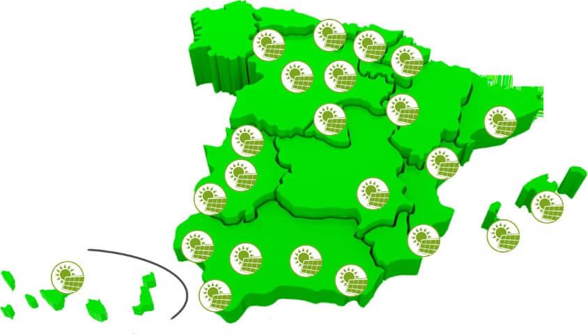 Mapa de instaladores