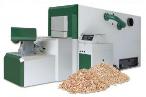 Centrales térmicas con un módulo de producción de calor entre 350 – 1.000 kW y una o dos calderas de generación de calor con biomasa.