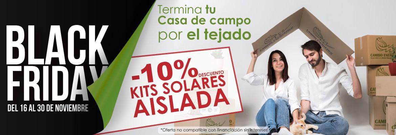 Black Friday 2020 - Kits Solares Aislada