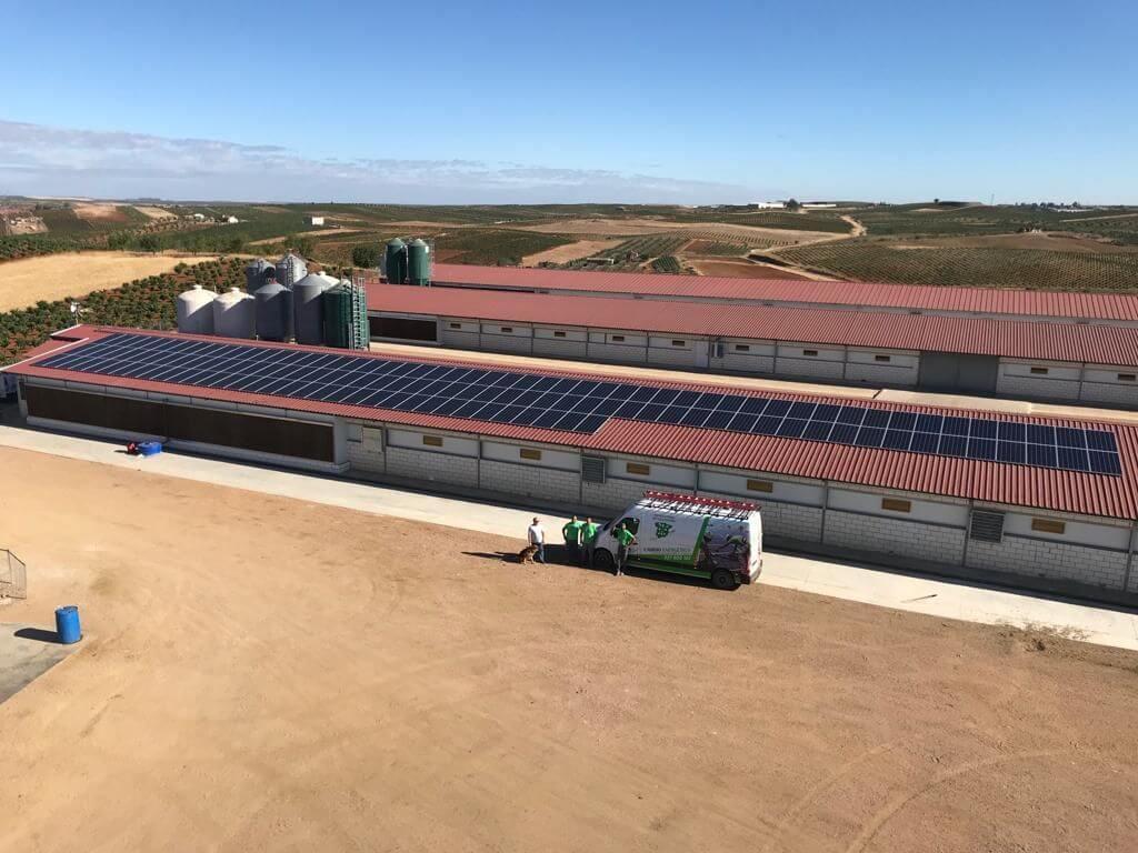 Placas solares en Aceuche