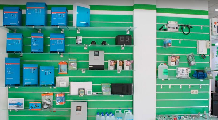 Oficina central tienda Cáceres