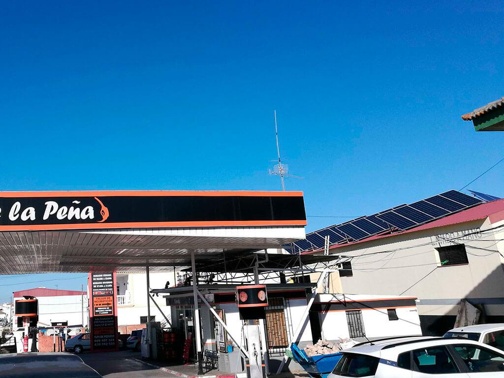 Autoconsumo Gasolinera Huelva